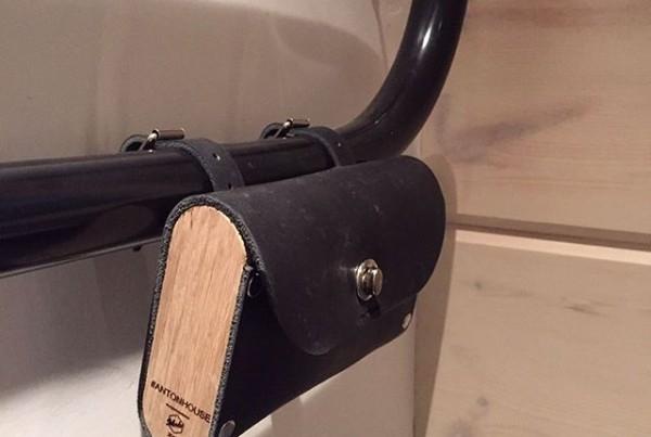 Кожаная сумка с гравировкой для Antonhouse. made by Make