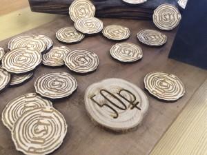 деревянные магниты