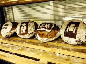 трафареты пекарня starwars