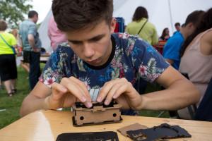 geek picnic oko pinhole camera