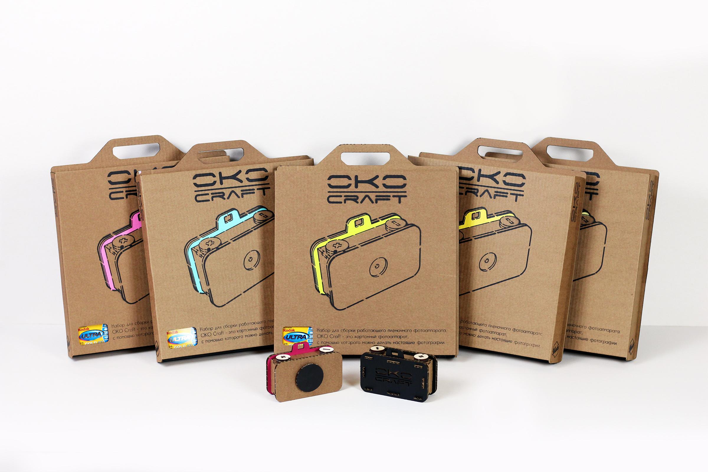 пинхол камера oko craft