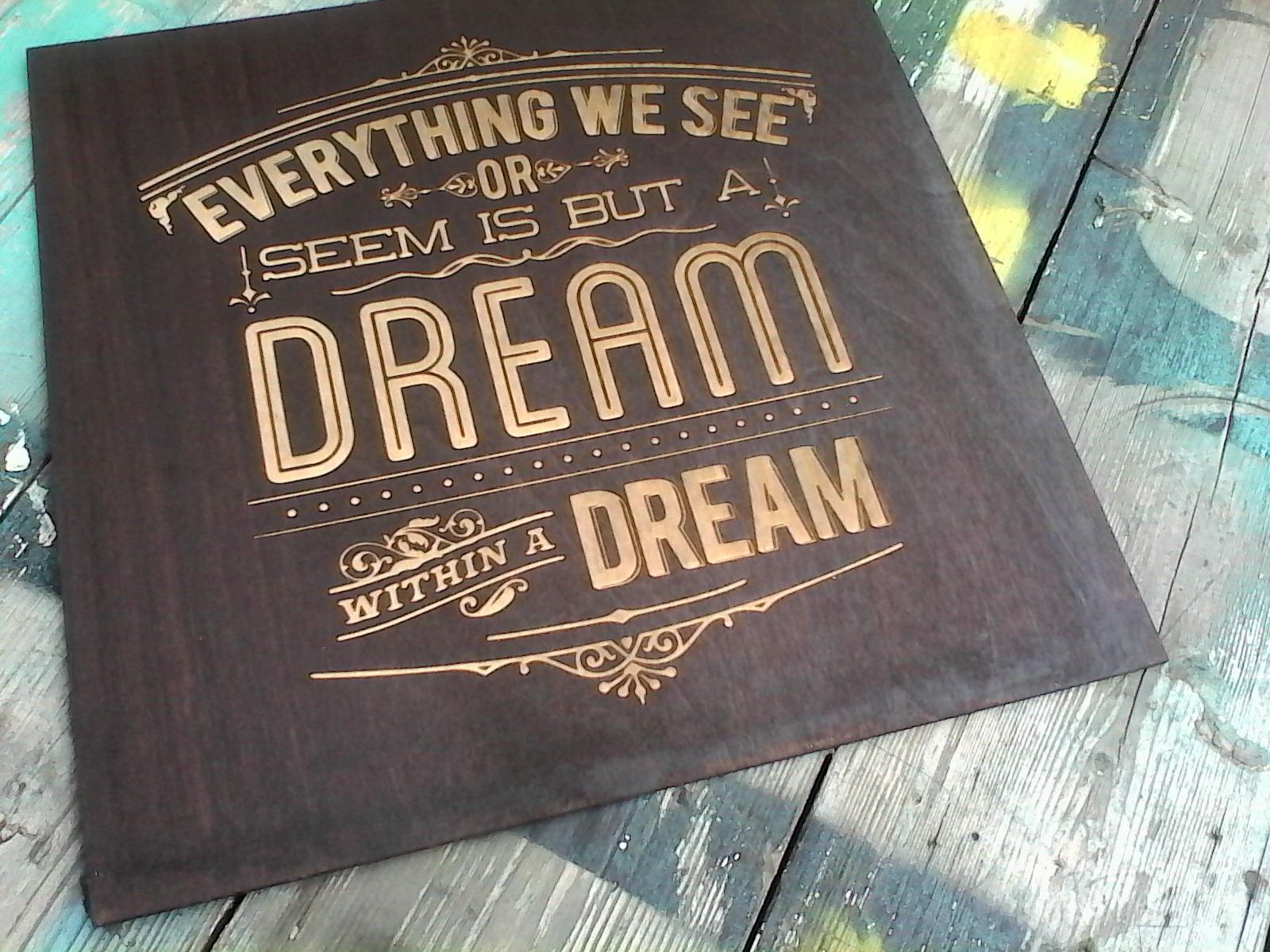 деревянный постер с гравировкой. декор для дома. made by Make