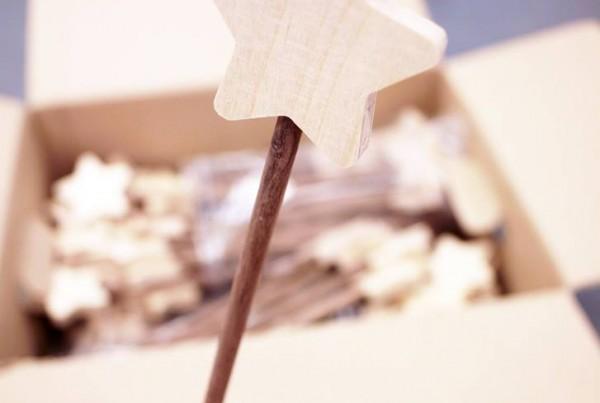 волшебная палочка для Ptit Cref и детсого кафе Андерсон. made by Make