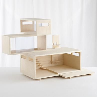 modern doll house workshop