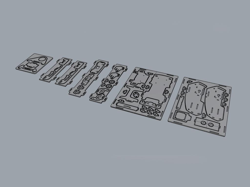 Робот-конструктор Скарт-Пион. Дизайн студии Make Fabrication Studio