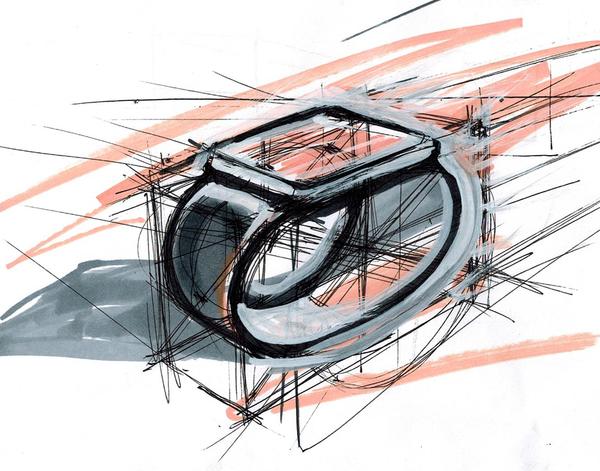 Скетчинг в промышленном дизайне